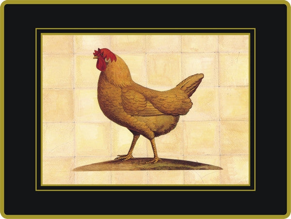 Set of 4  Ebbels Chicken Placemats