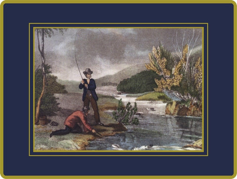 4 x Ebbels Fishing Placemats