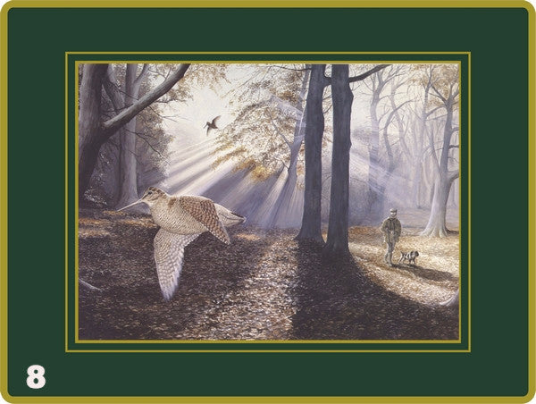 Set of 4 Ebbels Game Bird (Placemats & Continental mats only)