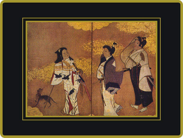 Set of 4 Ebbels Japanese Screen Placemats