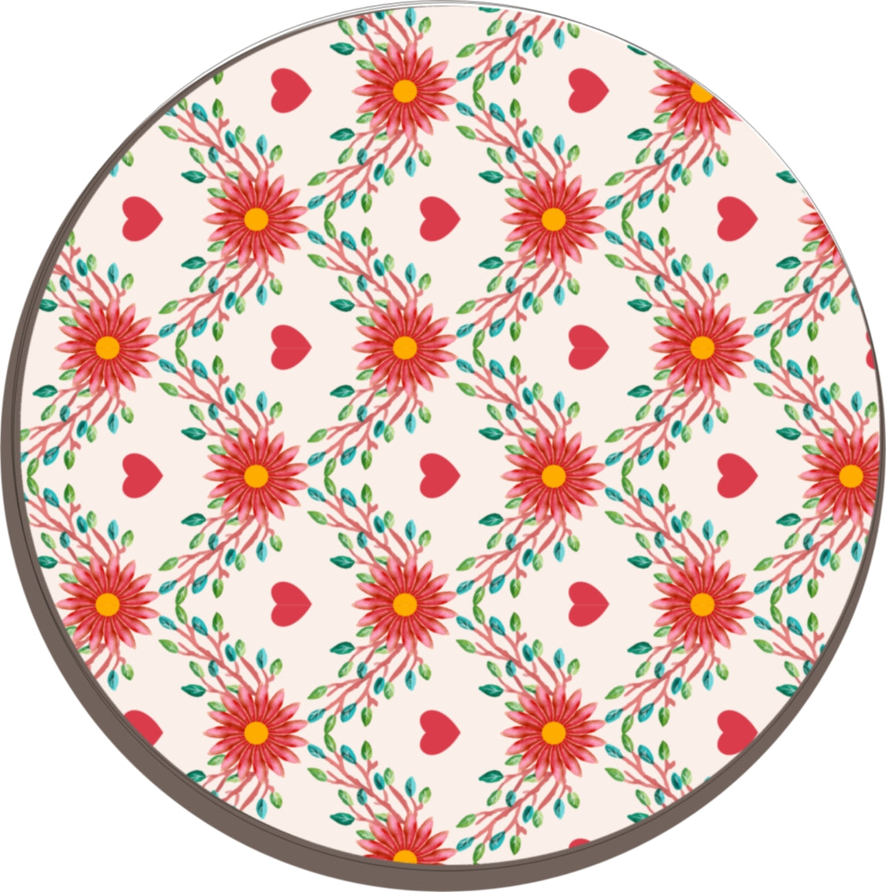 Solid Melamine Chef Pad (Hearts)
