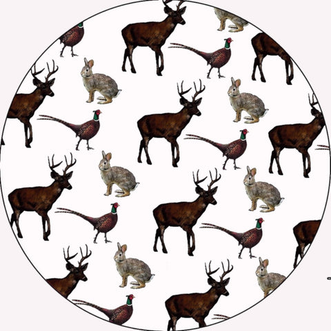 Melamine Trivet - Worktop Saver - Kettle stand (Deer)