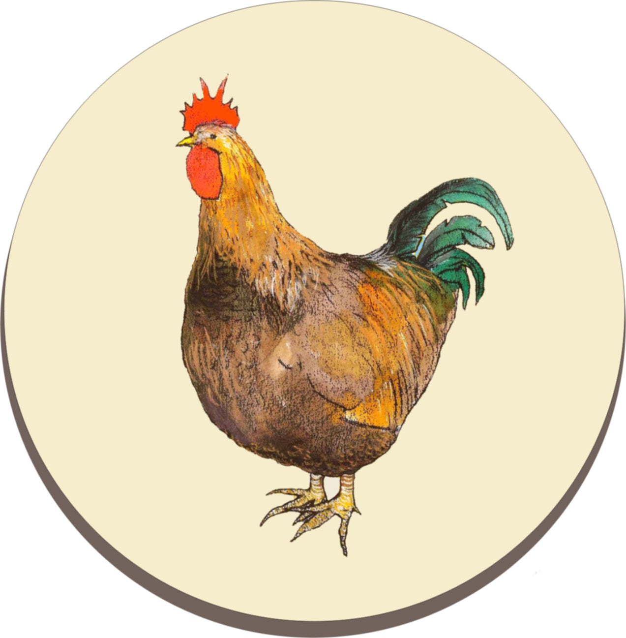 Solid Melamine Chef Pad (Chicken)