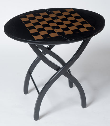 Folding Chess Table