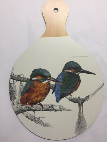 Kingfisher Melamine Cheese/Chopping Board
