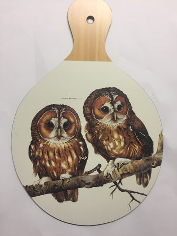 Owl Melamine Cheese / Chopping Board