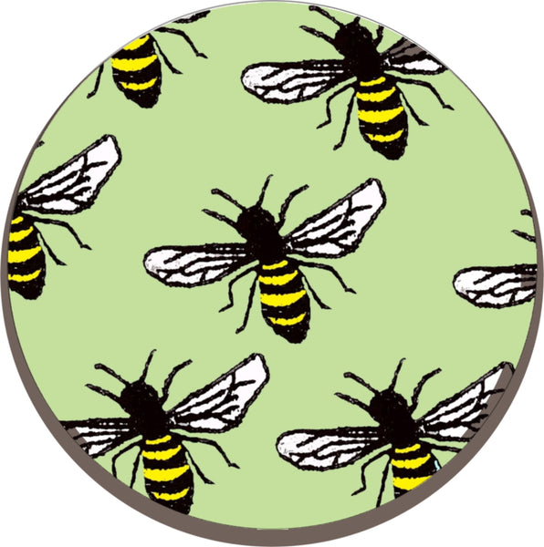 Melamine Trivet - Worktop Saver - Kettle stand (Bee)