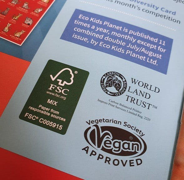 We're printed on FSC paper!  But what does that mean?