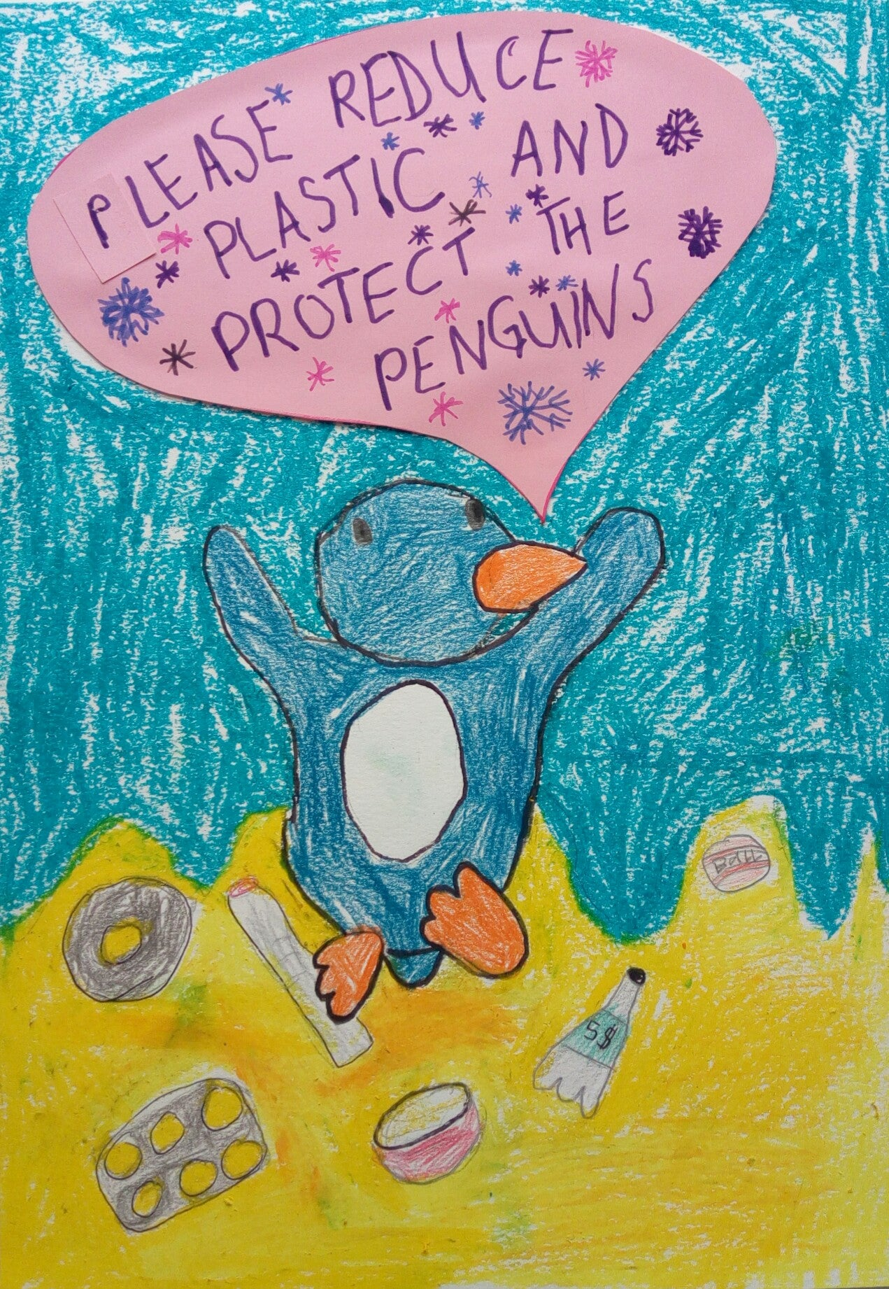Protect the Penguins Poster: Competition winners