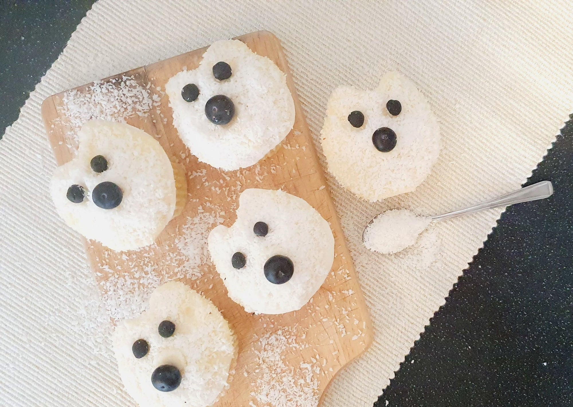 Bake Your Own: Polar Bear Cupcakes
