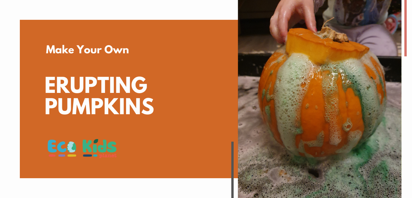Make Your Own: Erupting Pumpkins