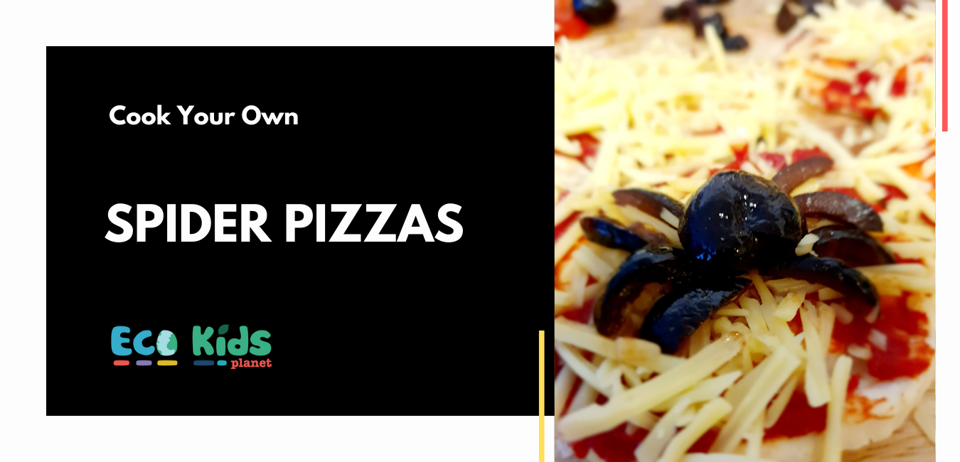 Cook Your Own: Spider Pizzas