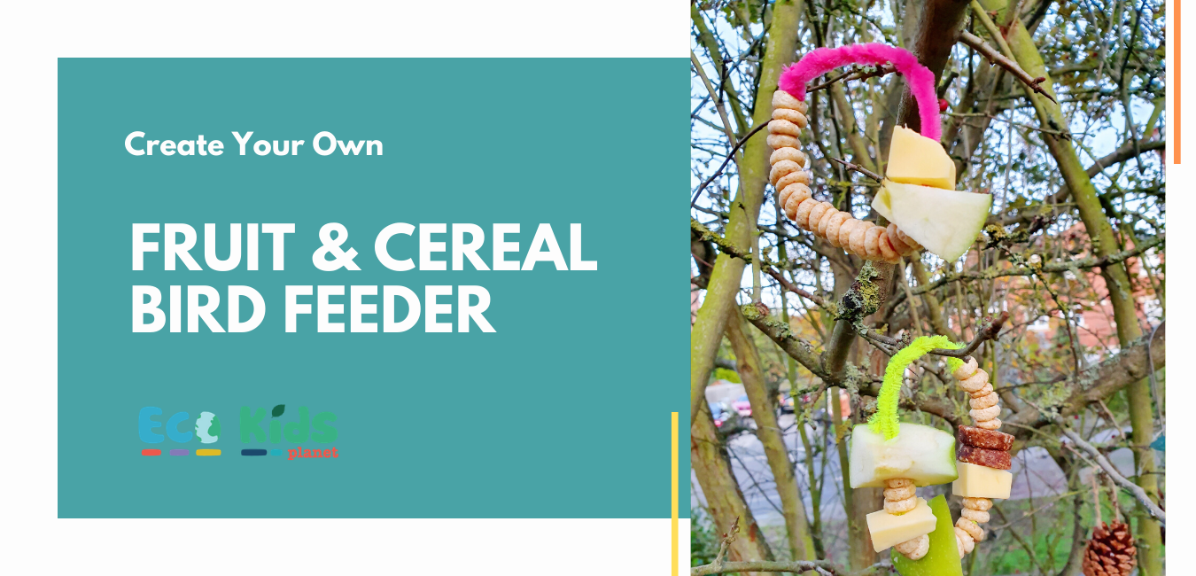 Make Your Own: Fruit & Cereal Bird Feeder