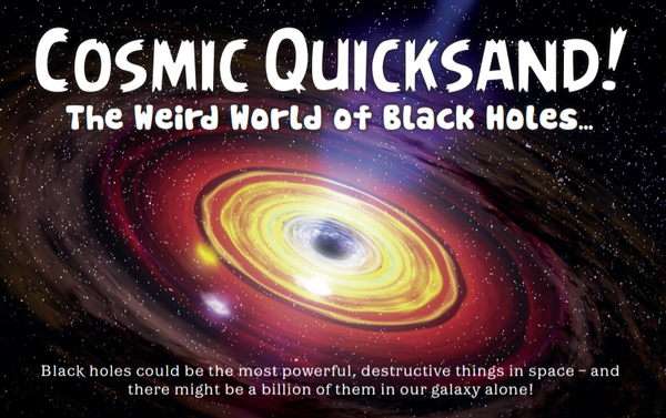 Cosmic Quicksand! The Weird World of Black Holes…