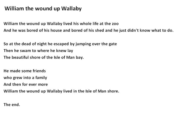 William the wound up Wallaby