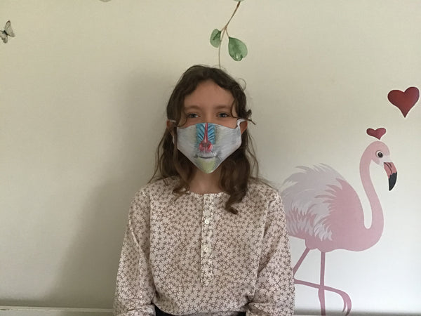 Madrill Face Mask