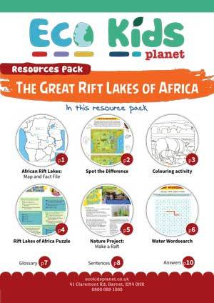THE GREAT RIFT LAKES OF AFRICA