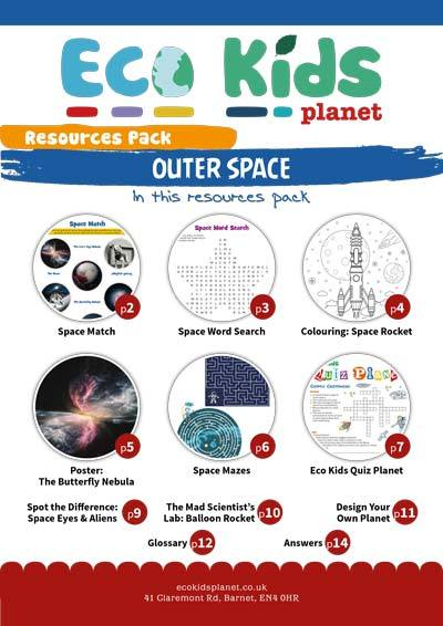 Resource pack for issue 71, Outer Space