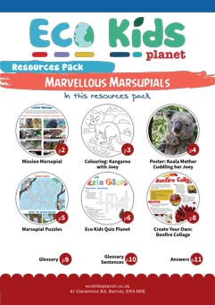 Resource pack for issue 73, Marvellous Marsupials