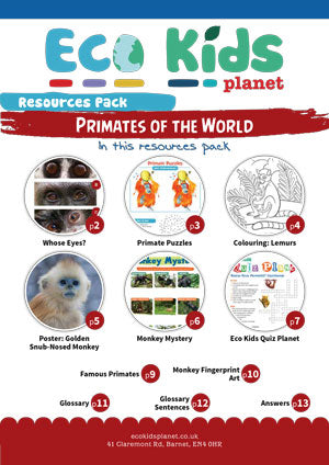 Resource pack for issue 75, Primates of the World