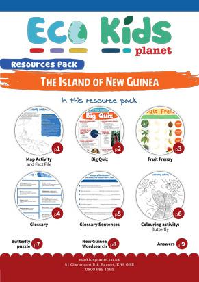 The Island of New Guinea