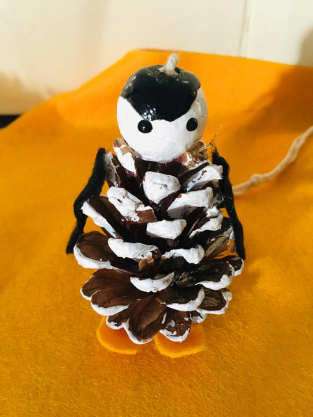 Make Your Own: Pine Cone Penguins - Eco Kids Planet