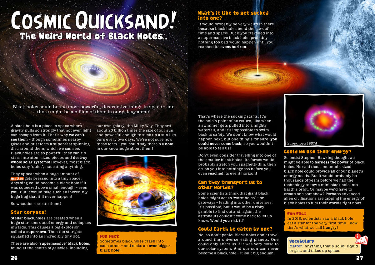 Cosmic Quicksand! The Weird World of Black Holes… - Eco Kids