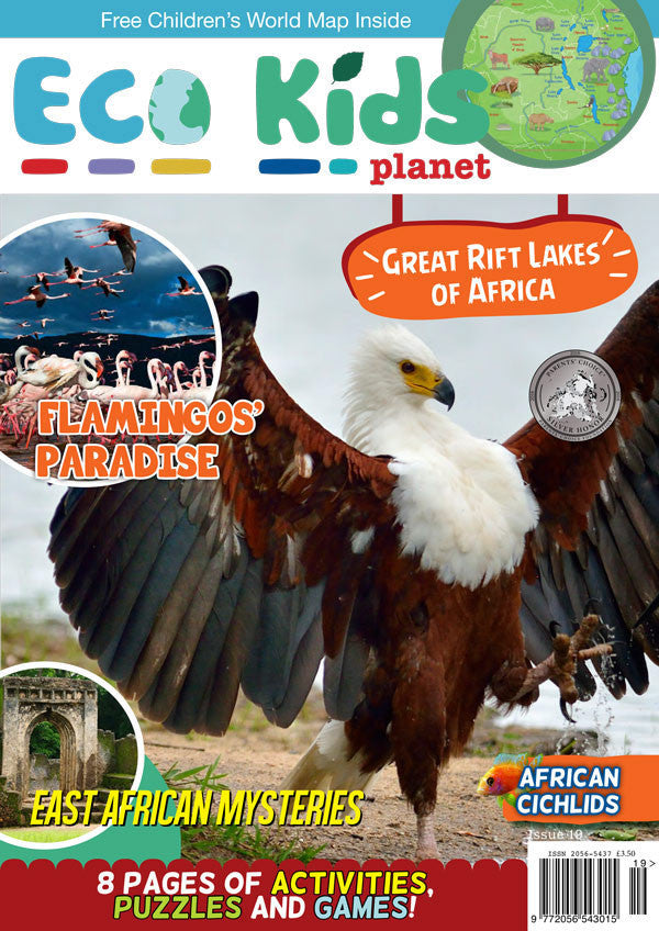 Kid's Nature Magazines - Issue 19 - The Great Rift Lakes of Africa