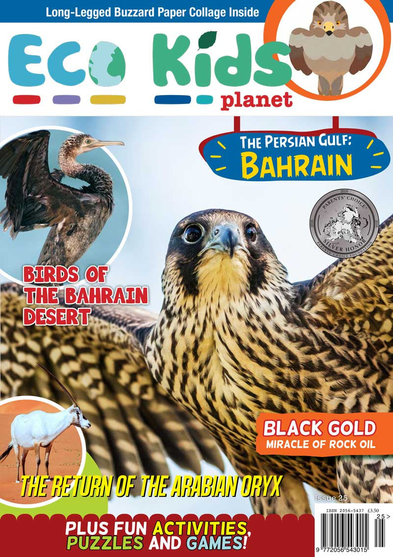 Kid's Nature Magazines - Issue 25 - Bahrain