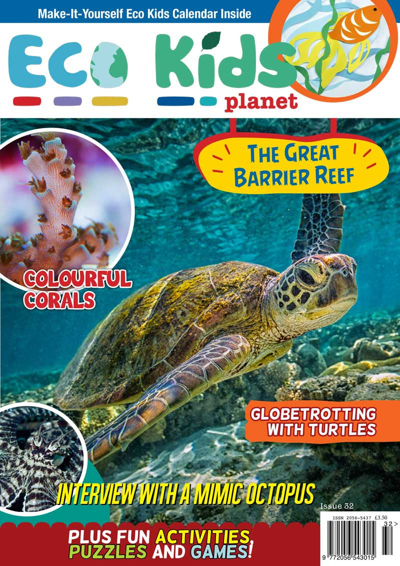 Kid's Nature Magazines - Issue 32 - The Great Barrier Reef