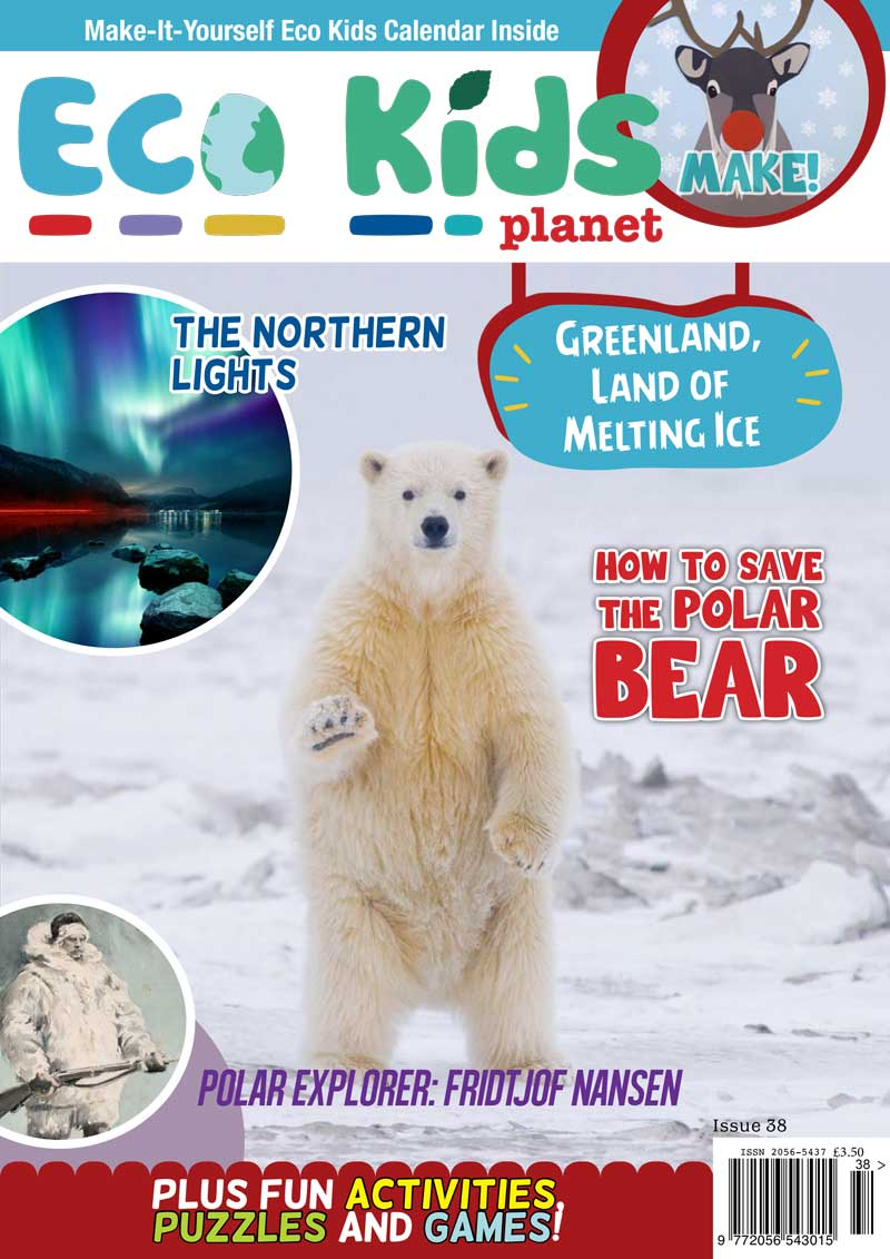 Kid's Nature Magazines - Issue 38 - Greenland, Land of Melting Ice