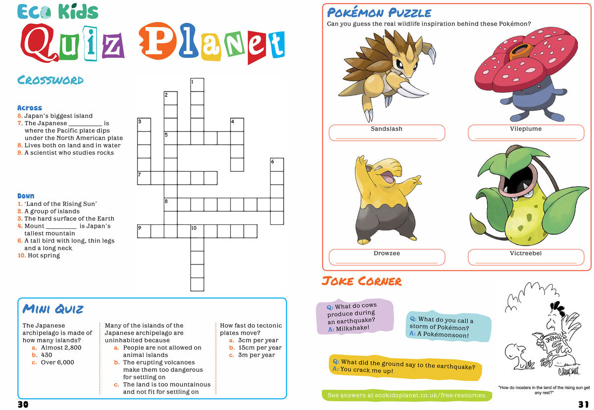 Kids Japanese Crosswords: a selection of sites