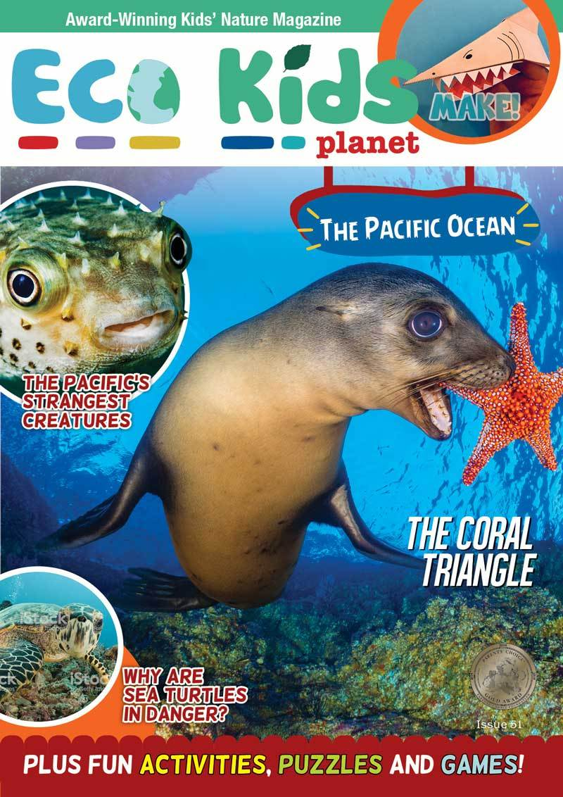 Kid's Nature Magazines - Issue 51 - The Pacific Ocean