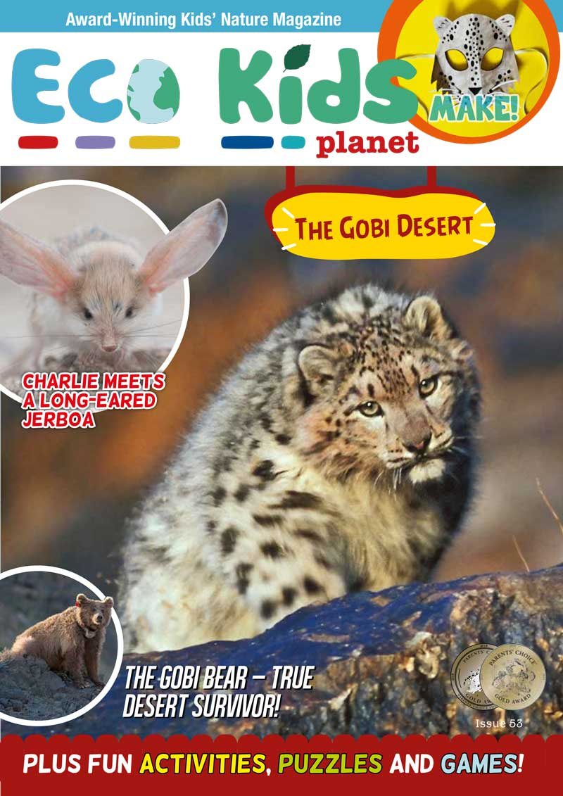 Kid's Nature Magazines - Issue 53 - The Gobi Desert