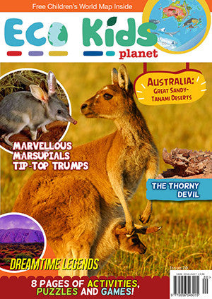 Kid's Nature Magazines - Issue 20 - Australia, Great Sandy-Tanami Deserts
