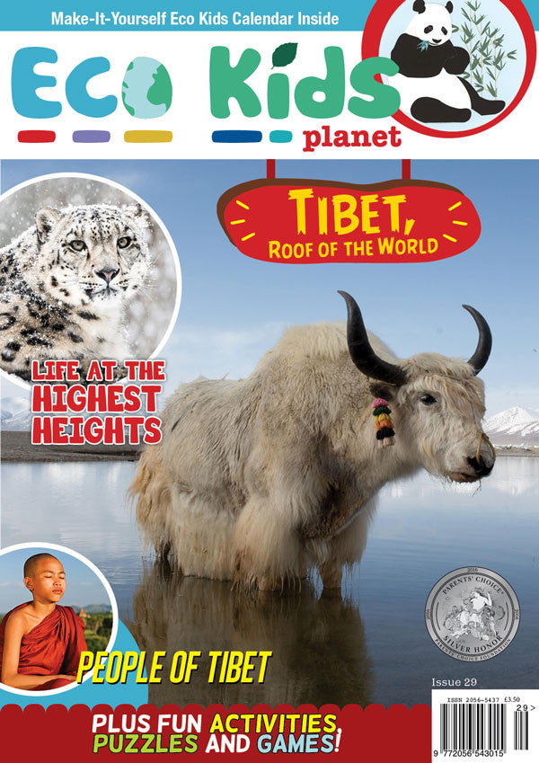 Kid's Nature Magazines - Issue 29 - Tibet, Roof of the World