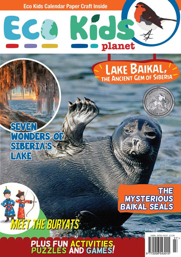 Kid's Nature Magazines - Issue 27 - Lake Baikal