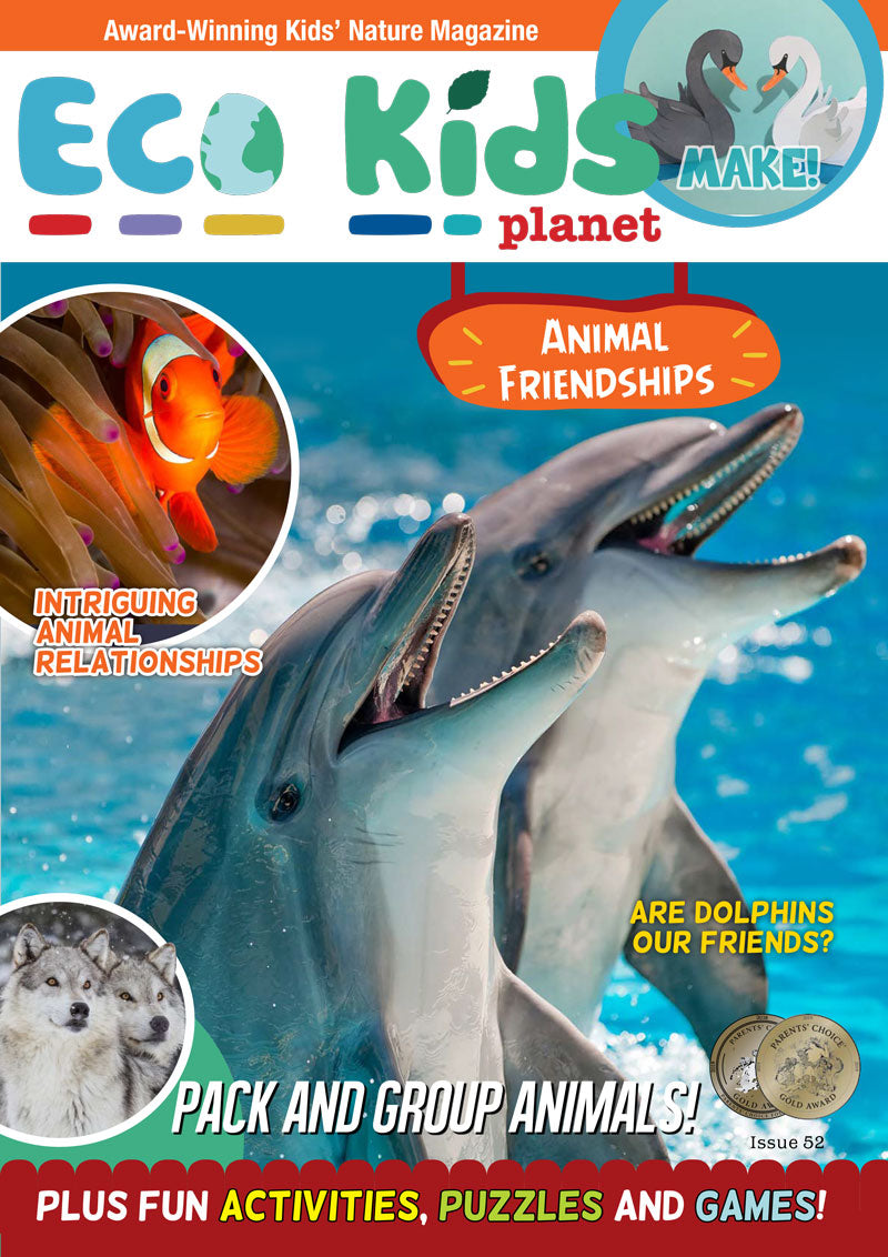 Kid's Nature Magazines - Issue 52 - Animal Friendships