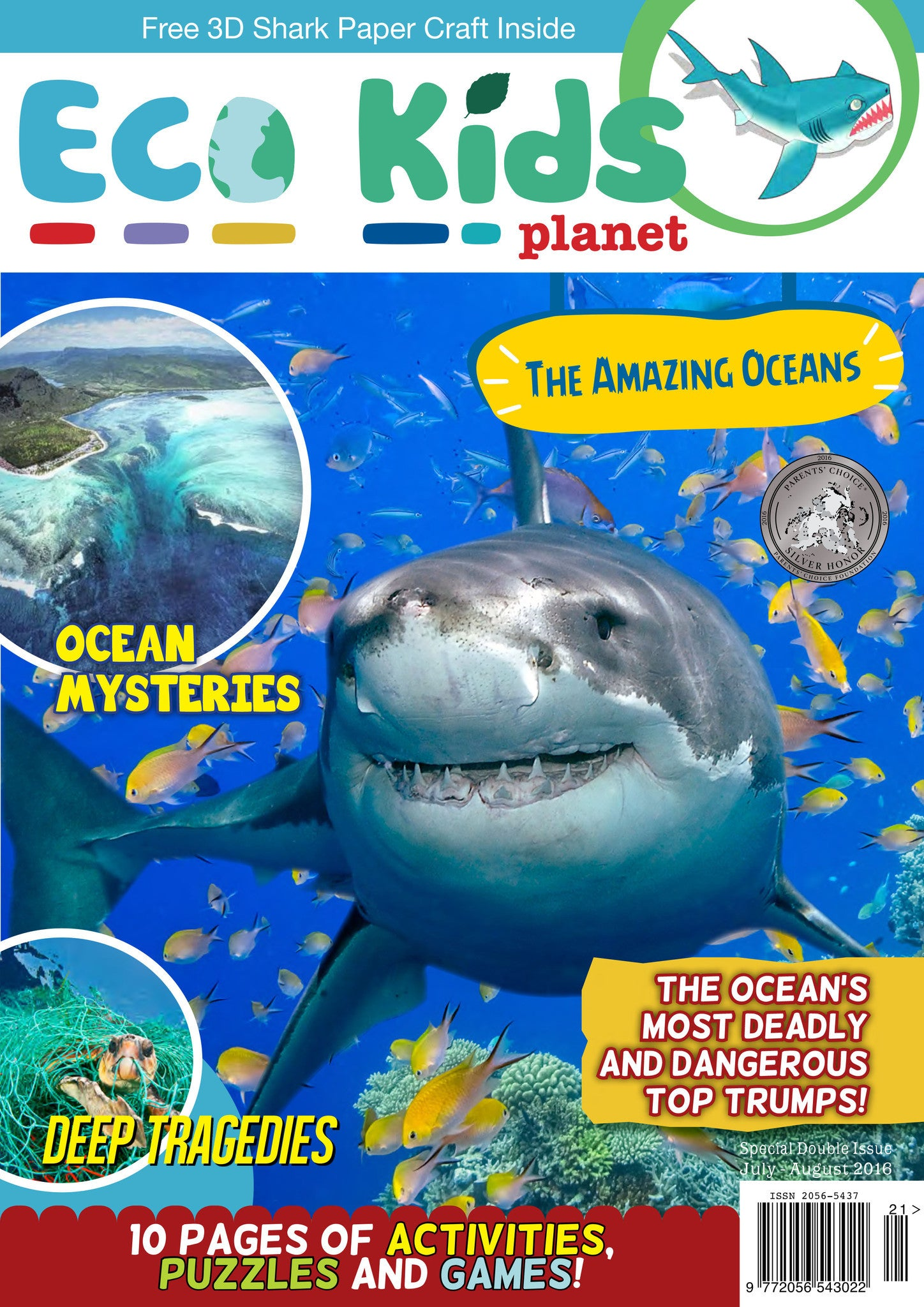 Kid's Nature Magazines - Issue 21/22 - The Amazing Oceans