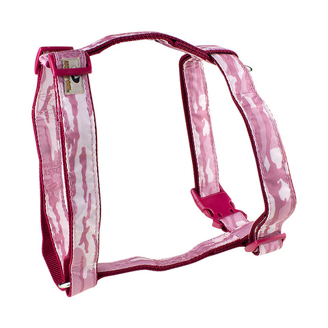 Mossy Oak Basic Dog Harness, Pink, Large