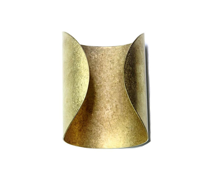 HATHOR VINTAGE GOLD CUFF