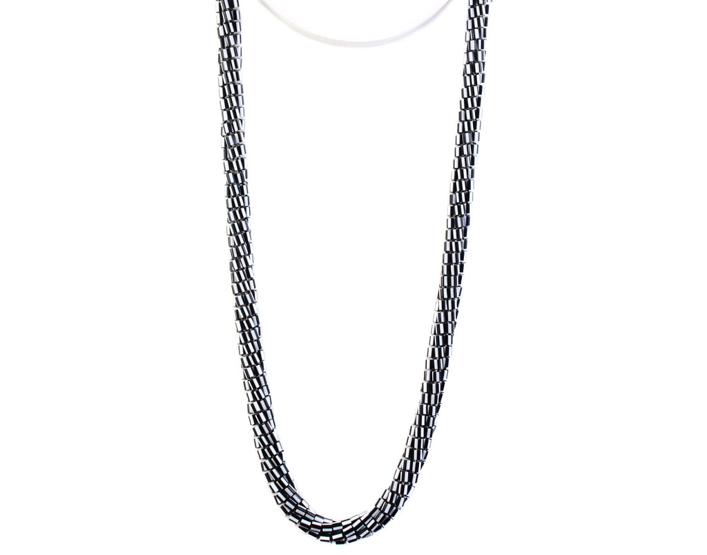 Mobiüs Torus™ Necklace - BLACK/WHITE STRIPE