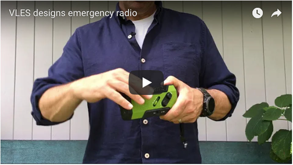 Using the Emergency Radio