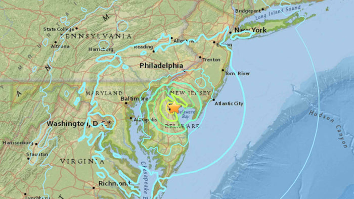 An Earthquake in Delaware That Was Felt in New York