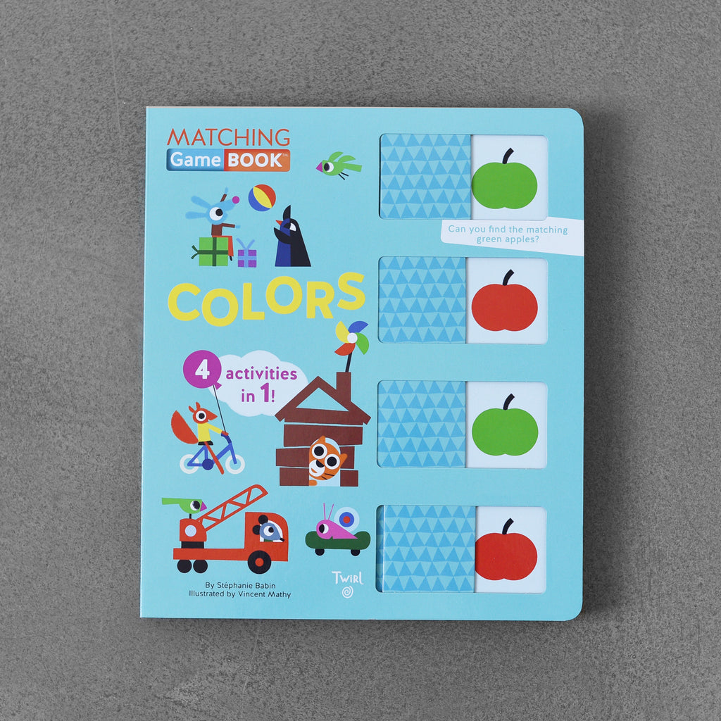 Matching Game Book: Colours