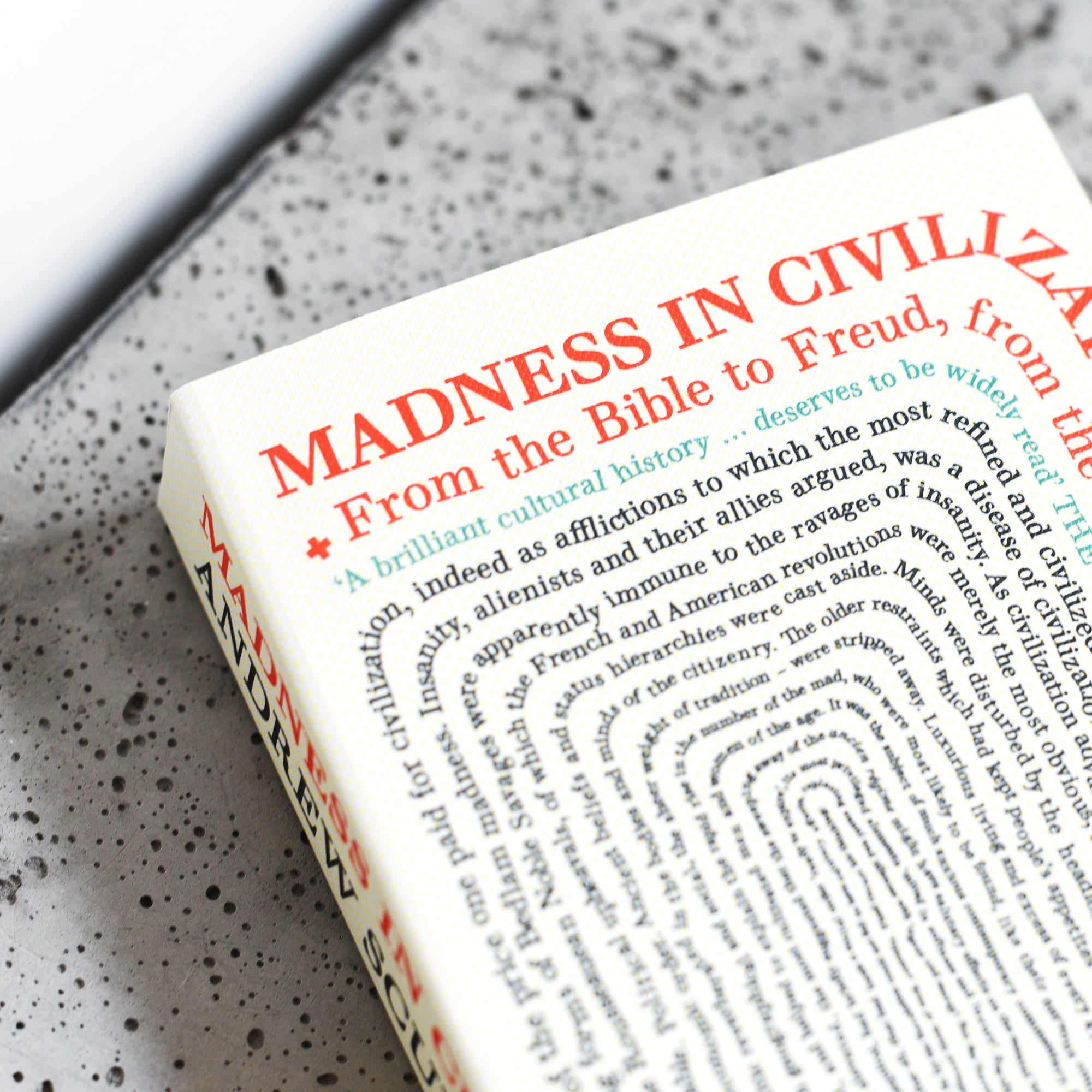 Madness in Civilization: A Cultural History of Insanity - Andrew Scull