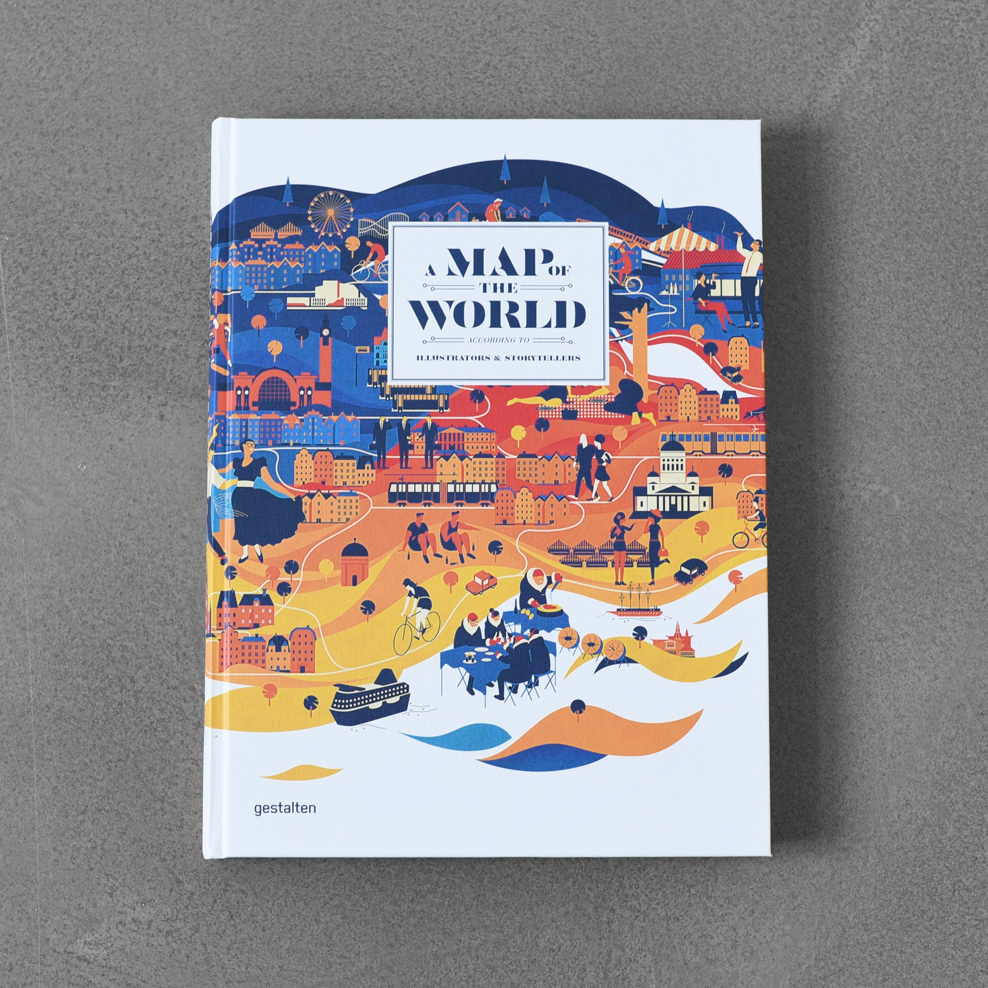 A Map of the World: According to Illustrators & Storytellers