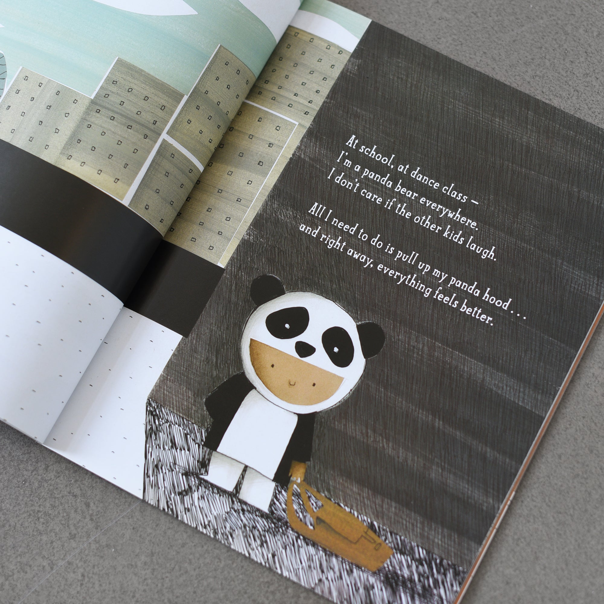 My Panda Sweater - written by Gilles Baum, illustrated by Barroux
