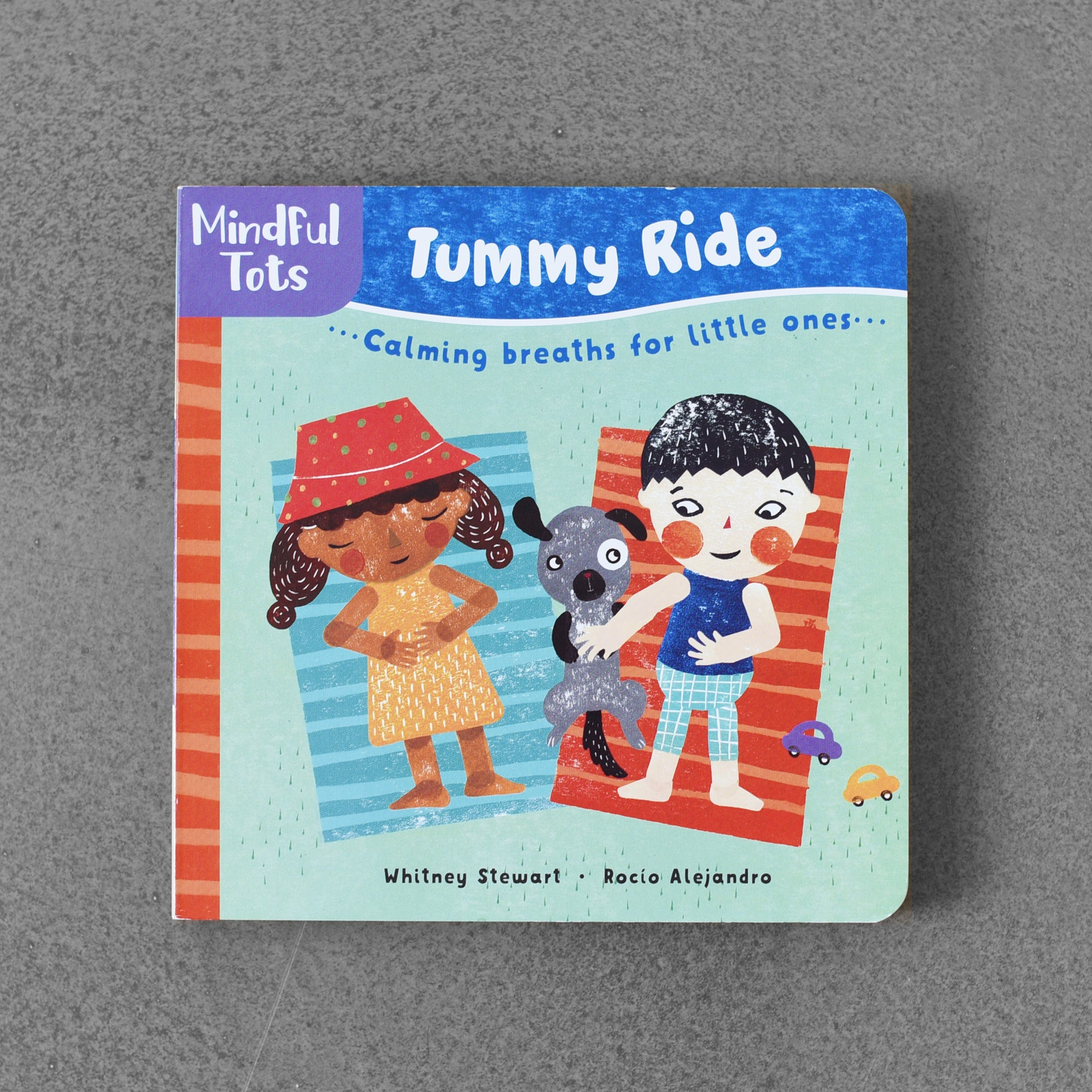 Tummy Ride.... Calming Breaths fot Little Ones