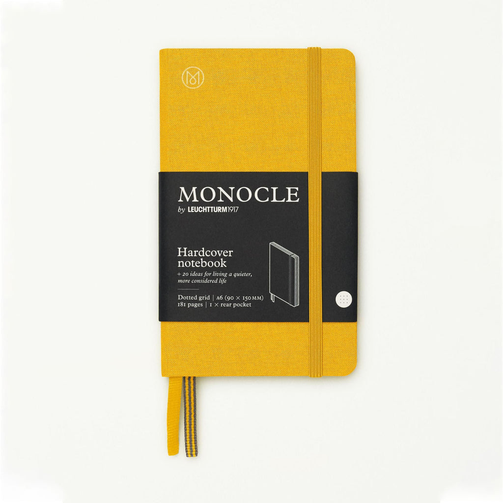 Monocle Hardcover Notebook A6 - Yellow